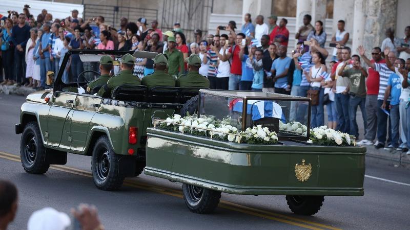 Havana bids farewell to Castro
