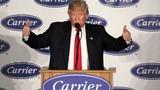 VERBATIM: Trump warns companies not to leave U.S.