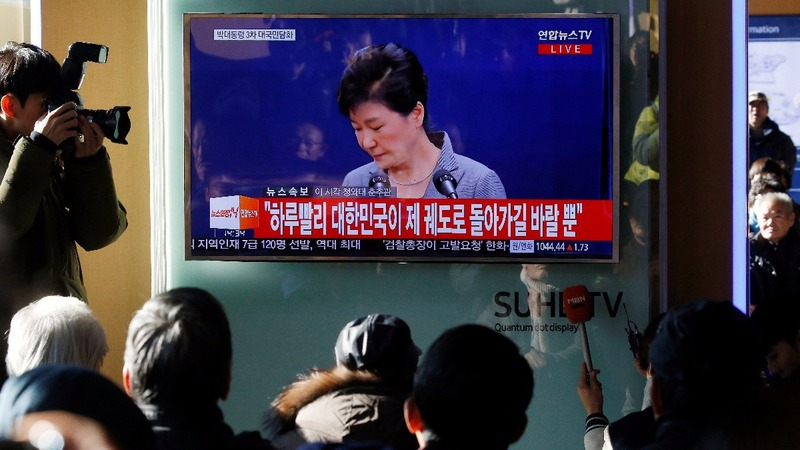 S. Korea's opposition plans Park impeachment vote