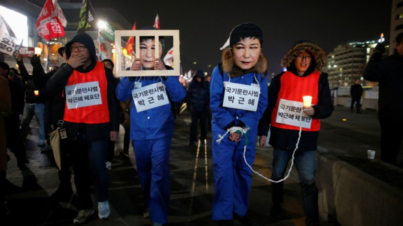 S. Korea's opposition to vote on Park impeachment