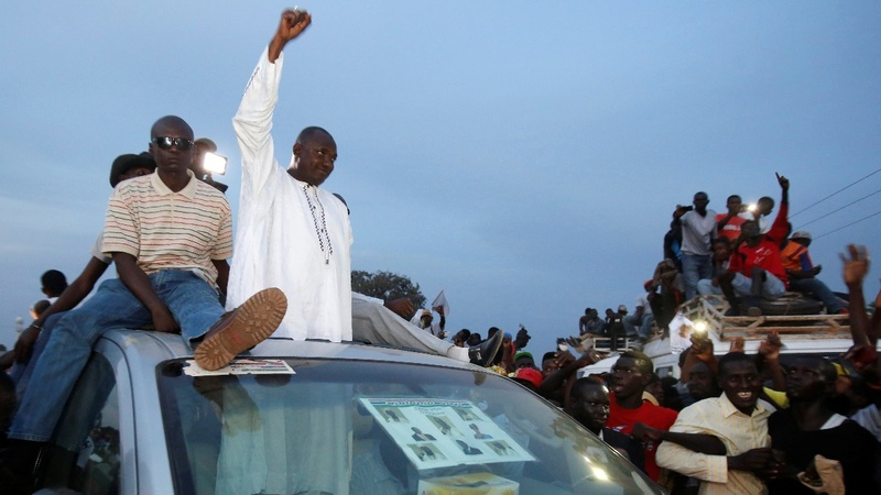 Gambia elects first new president in 22 years