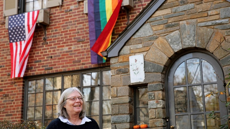 INSIGHT: Rainbow flags in Pence's new neighborhood