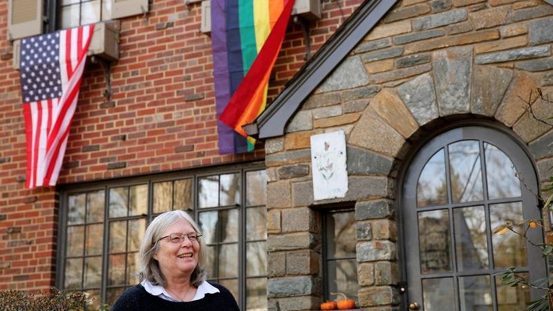 INSIGHT: Rainbow flags in Pence's new neighborhood