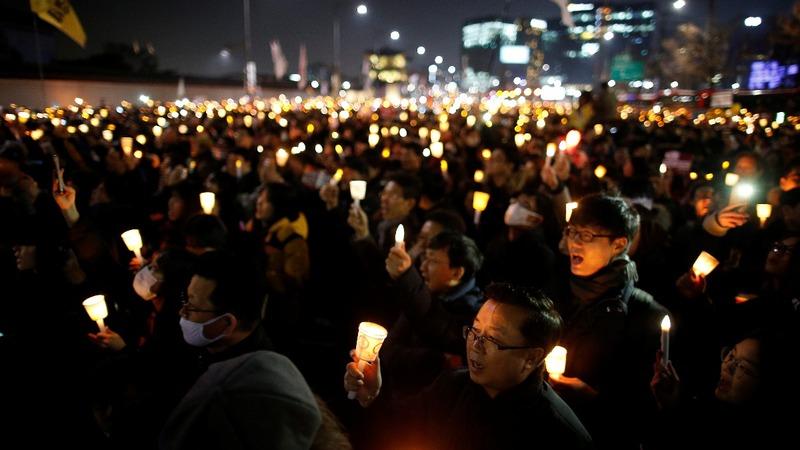 INSIGHT: Fresh protest against S. Korea president