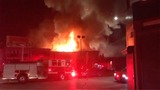 California warehouse blaze kills 9, more missing