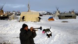Pipeline protesters bundle up for a long winter fight