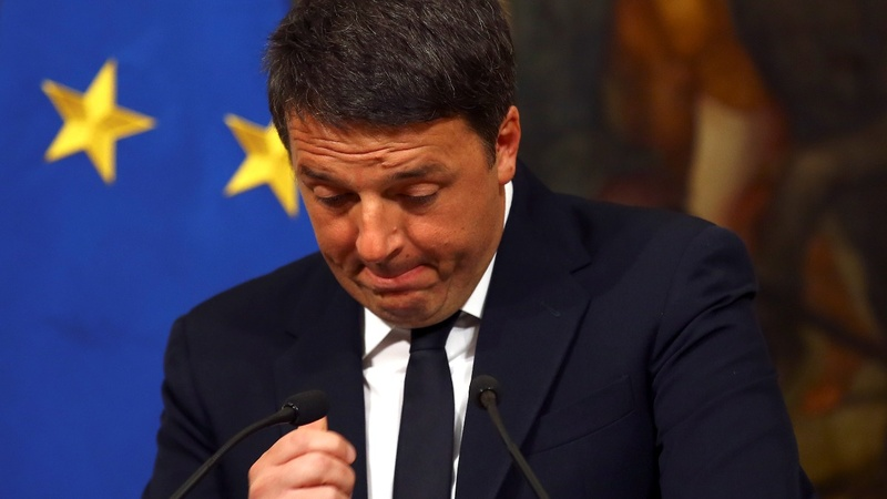 Political turmoil after Renzi's crushing defeat