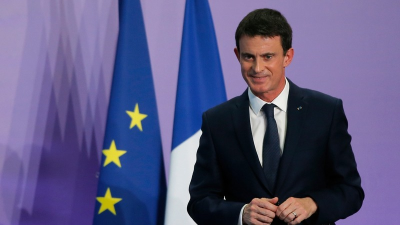 French PM Valls bids for the presidency