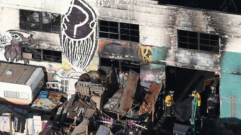 Oakland fire death toll 36, and expected to rise