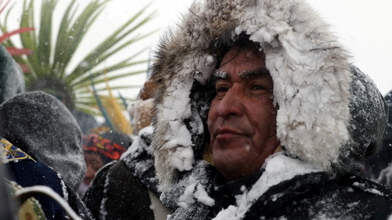 Dakota pipeline protesters prepare for long fight ahead