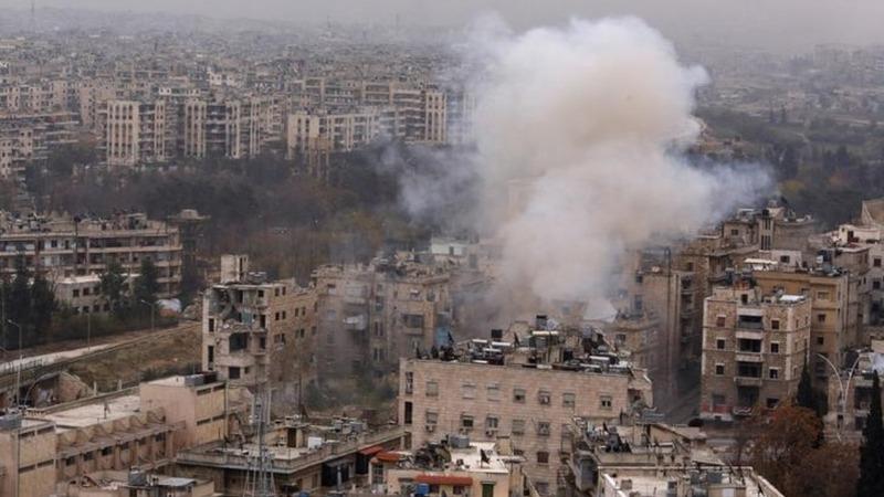 Russia, China block UN Aleppo truce call
