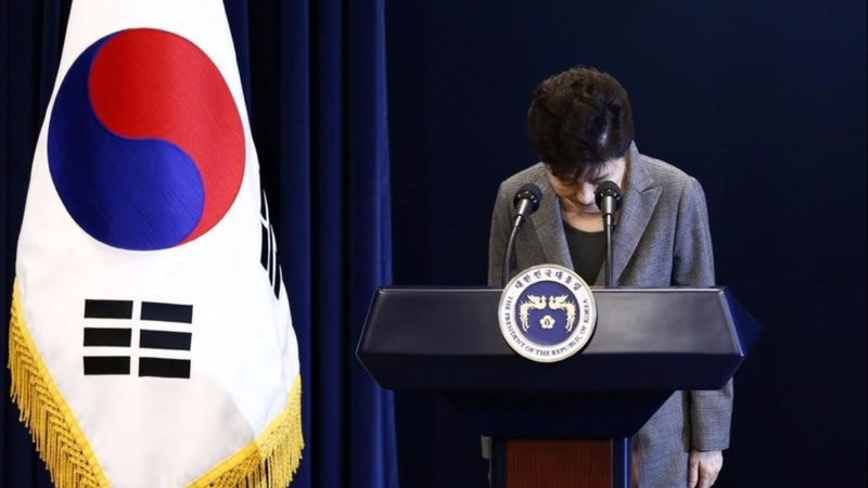 South Korea's Park willing to resign or be impeached