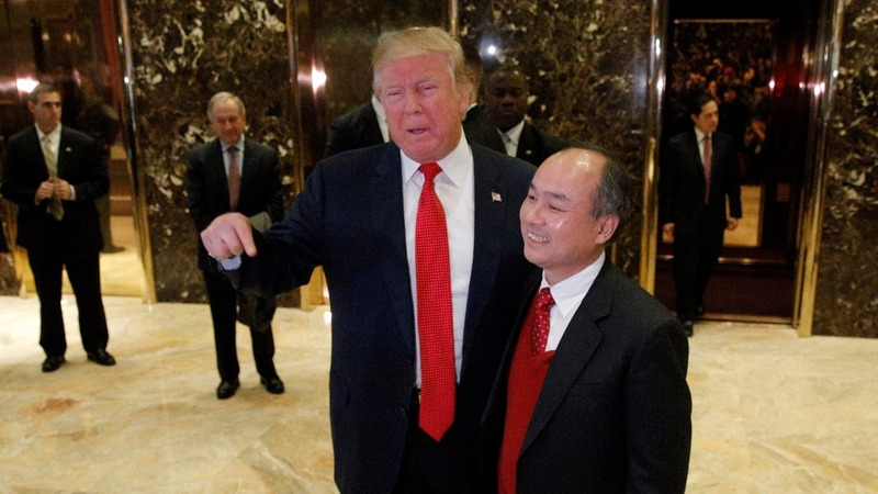 Japan's SoftBank pledges $50 bln to Trump's economic plan