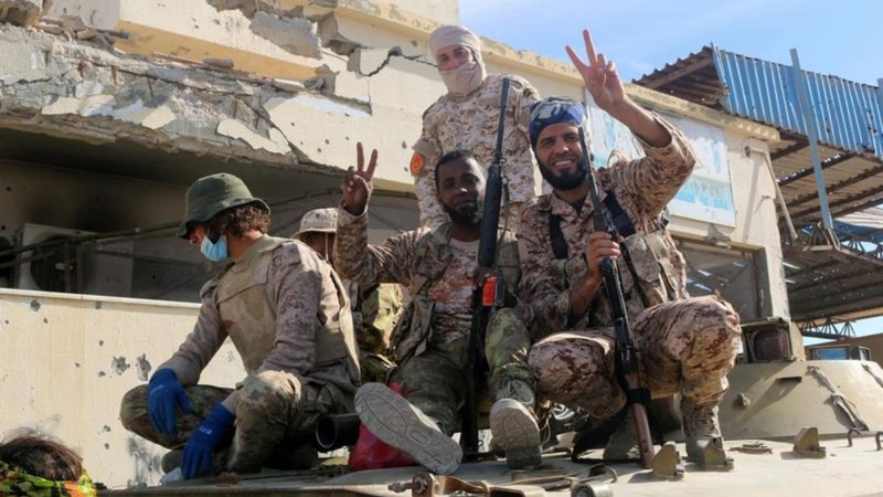 Libyan forces take control of Sirte