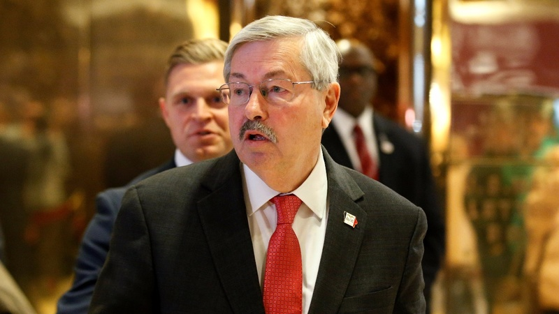 Trump picks 'human hotline' Branstad as China envoy