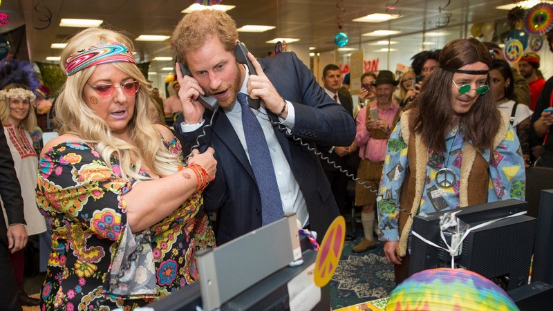 INSIGHT: Prince Harry 'joins' trading floor