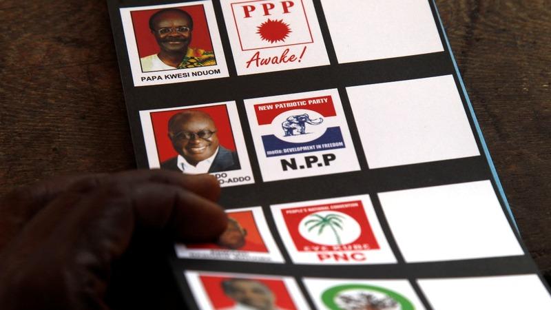 Ghana votes as president seeks a final term