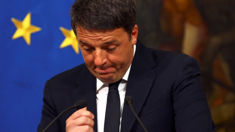 'Long live Italy': PM Renzi resigns