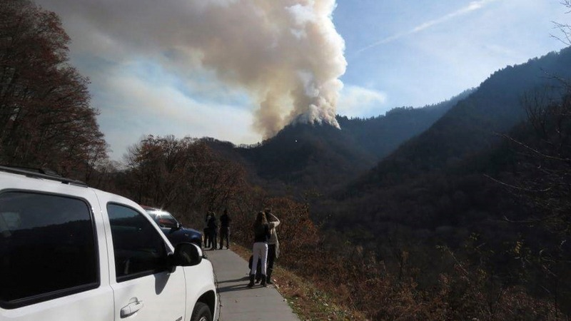 Two minors charged in Tennessee wildfires