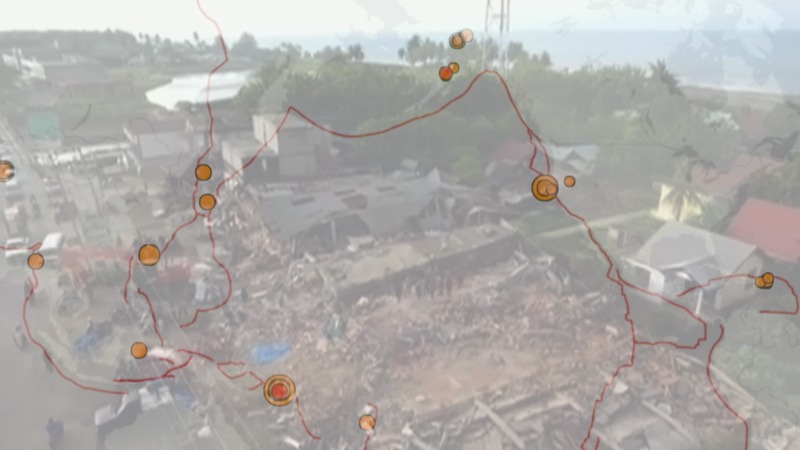 A spate of quakes hits the 'Ring of Fire'