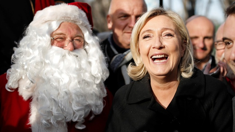 Le Pen rebranding for a softer image