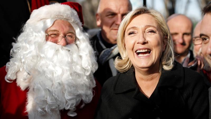 Le Pen rebranding for a softer image