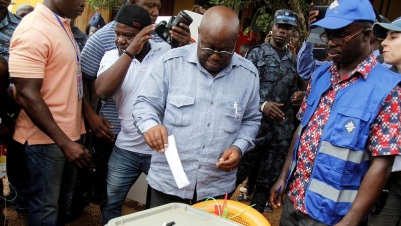 Ghana opposition claims presidency