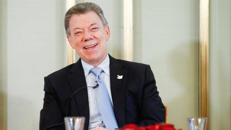 VERBATIM: Colombian president's Nobel 'gift'