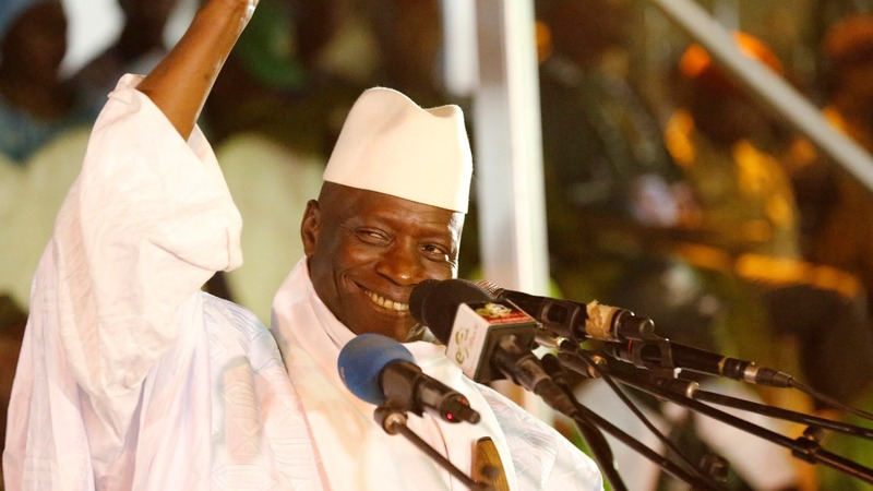 Gambia president rejects election result