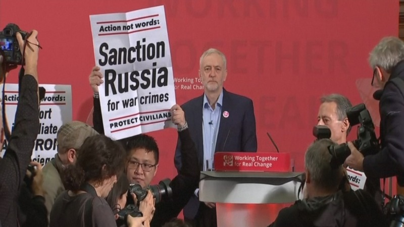 INSIGHT: Corbyn speech interrupted by protesters