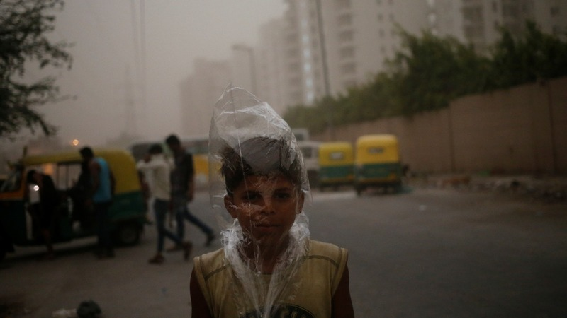 Severe cyclone bears down on India