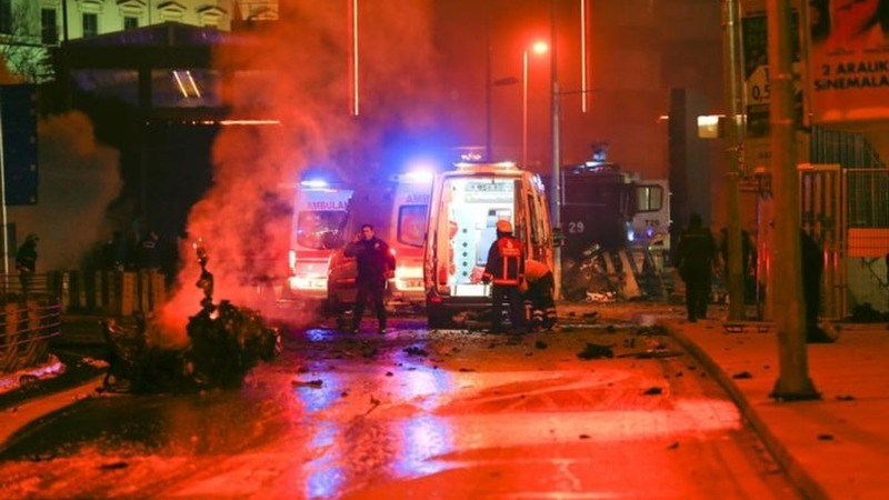 Many detained after Turkey blasts