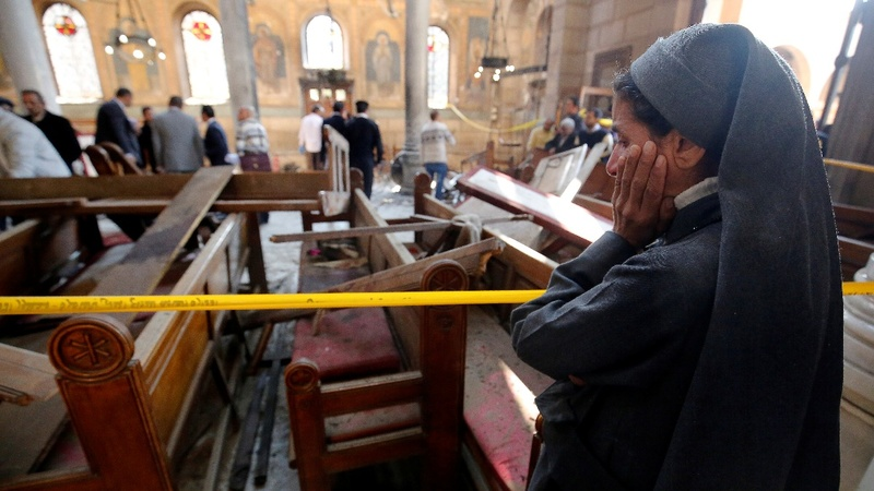 Islamic State claims Cairo cathedral bombing
