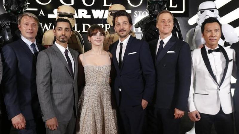 VERBATIM: 'Rogue One' stars at London premiere