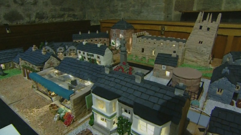 INSIGHT: The English village made of cake