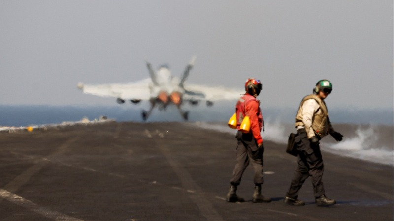 PERSPECTIVES: Aboard the world's largest warship
