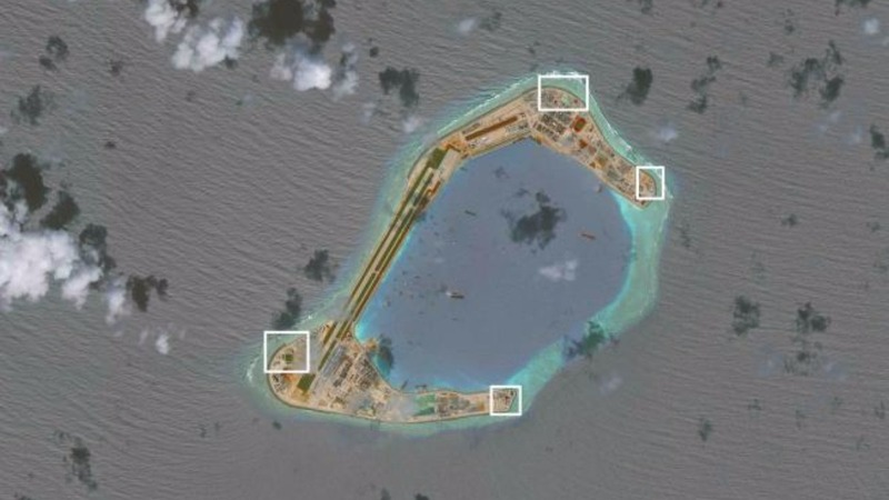 South China Sea tensions spike