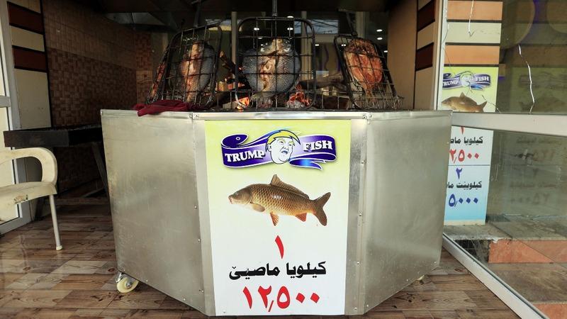 'Trump Fish' restaurant opens in Iraq