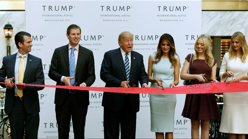 Trump's DC hotel a conflict of interest: Dem lawmakers