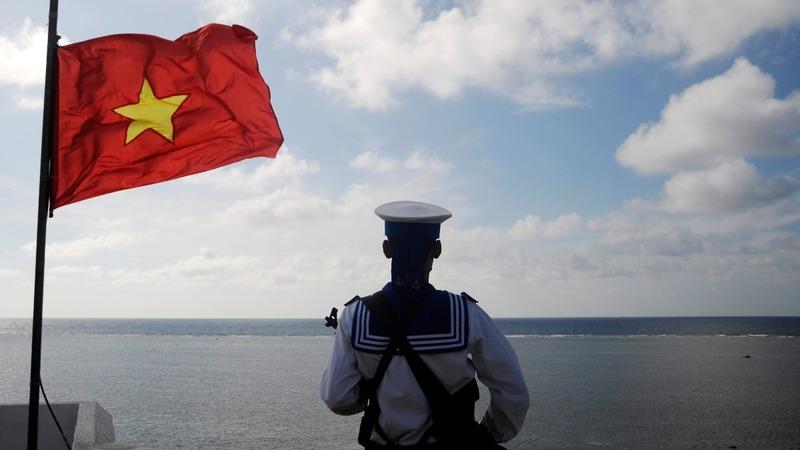 Vietnam starts dredging on South China Sea reef