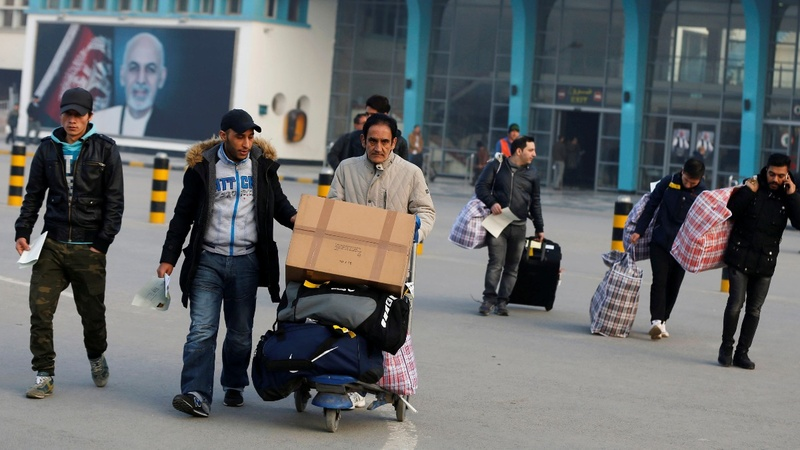 Germany deports Afghan asylum seekers