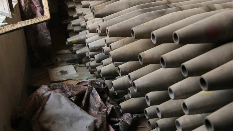 IS making 'military standard' weapons in Mosul