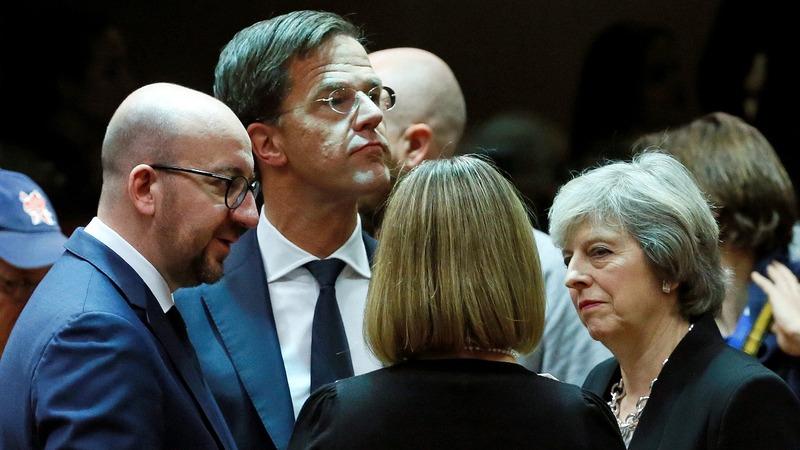 EU leaders debate Russia war crime charge