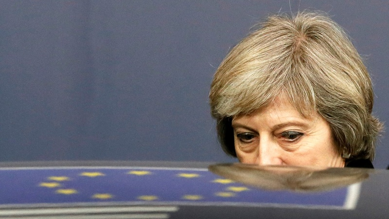 British PM cuts lonely figure at EU summit