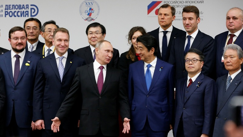 Abe gets no satisfaction on Russia islands dispute