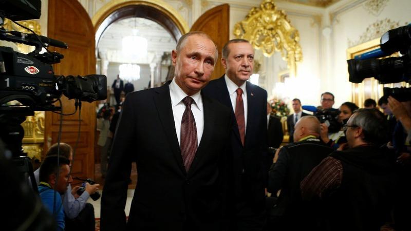 Aleppo puts Russia, Turkey's long game in focus