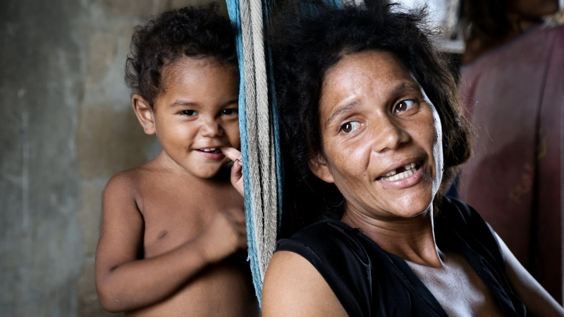 Venezuelans give away children amid crisis