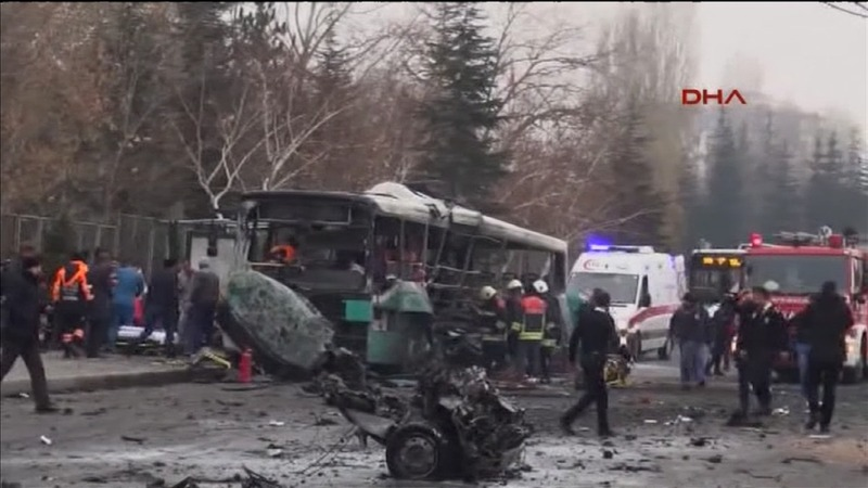 PKK blamed for deadly Turkish bus attack