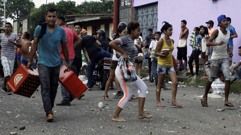 Hundreds arrested during Venezuela cash chaos