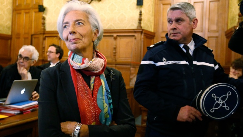 IMF chief Lagarde convicted, but not punished